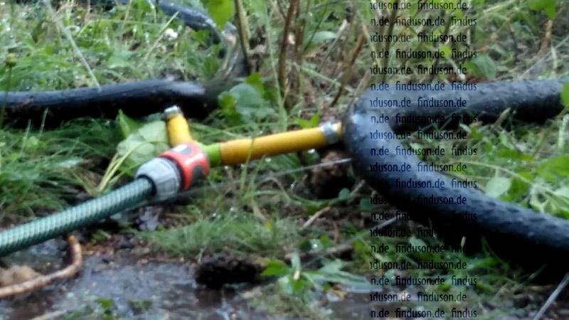 Gartensprengler, Bewässerungssystem, Finnland, finnisch